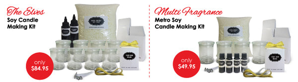 candle making kits, candle creations