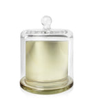 Baby Cloche Jar - Gold Jar with Clear Glass Dome 140-150mls
