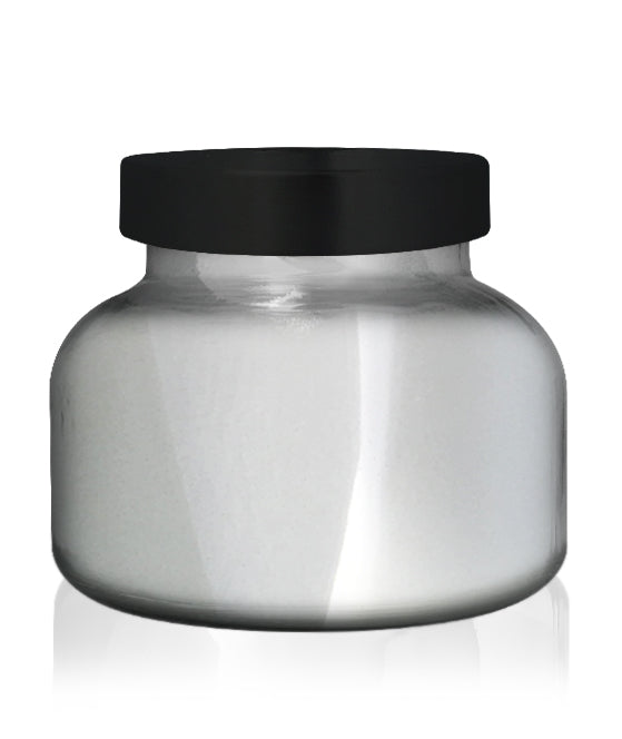 Beaute - Silver Chrome Jar with Black Metal Lid 650mls