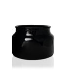 Little Beaute - Hi-Gloss Black Jar with Natural Wooden Lid 270 -300mls