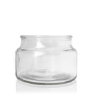 Little Beaute - Clear Jar with Black Wooden Lid 270 -300mls