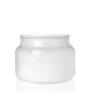 Little Beaute -  Soft White Jar with White Wooden Lid 270 -300MLS