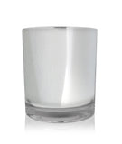 Medium Classic Tumbler - Silver Chrome Jar 280 -300ml