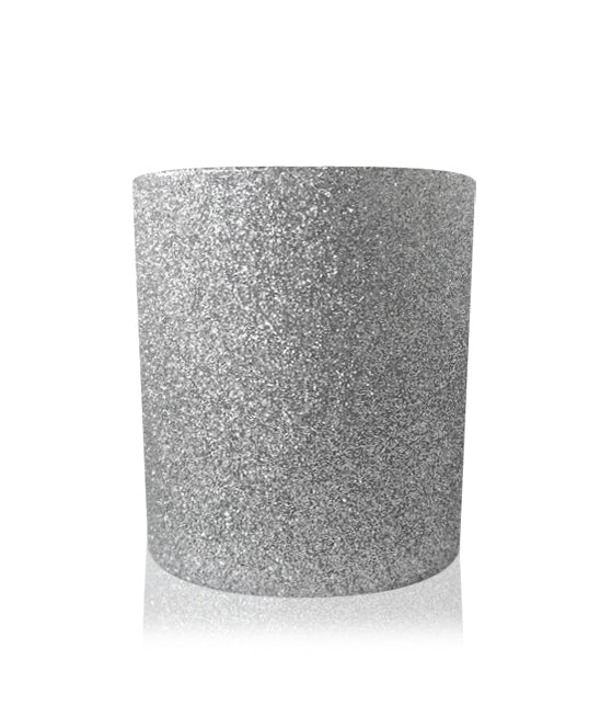Small Classic Tumbler - Silver Glitter Jar 145mls END OF LINE