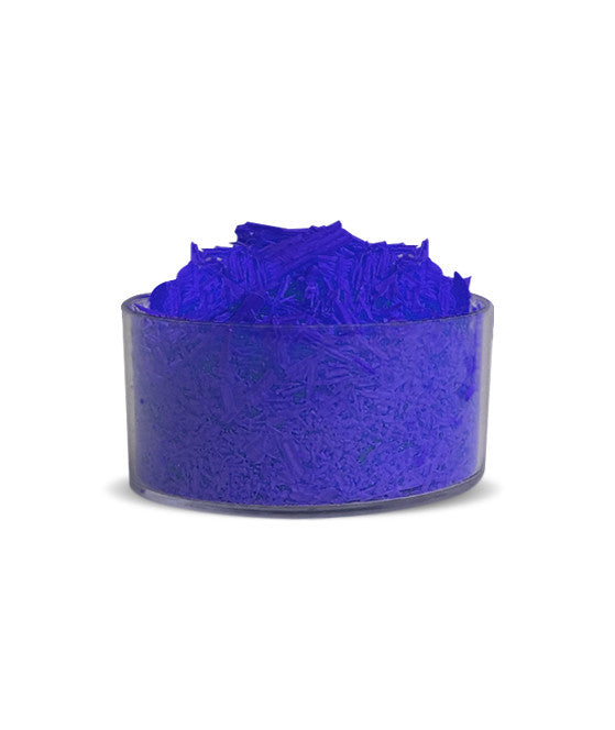 Fluorescent Blue Colour Dye Flakes