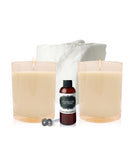 Coconut Wax Candle Making Kit - 2 Large Candles Vintage Tumbler