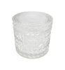 Vine Vintage Cut Glass Candle Jar with Lid - 200mls