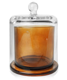 Amber Cloche Jar Soy Candle Making Kit