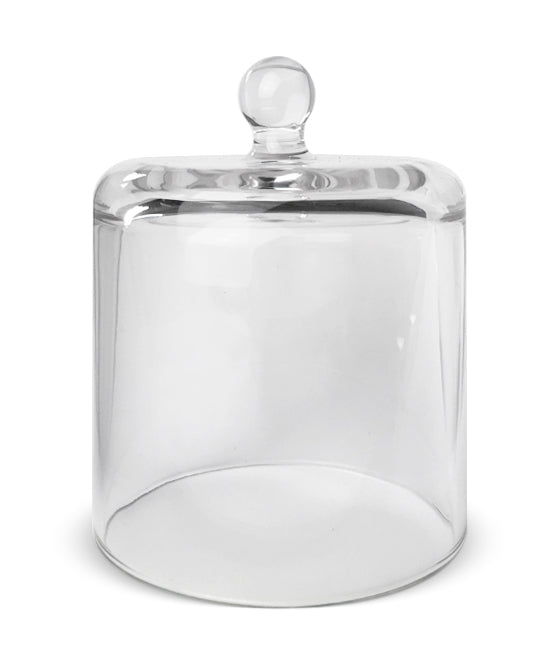 Cloche Jar - Clear Jar with Clear Glass Dome 550 -600mls