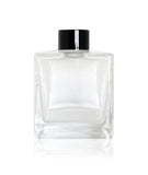 200ml Square Diffuser Bottle - Black Collar