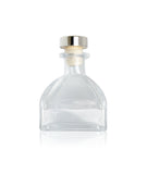 50ml Potion Diffuser Bottle with Square Base - Silver Cork