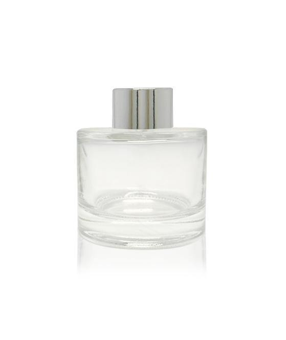 100ml Diffuser Bottle - Silver Collar