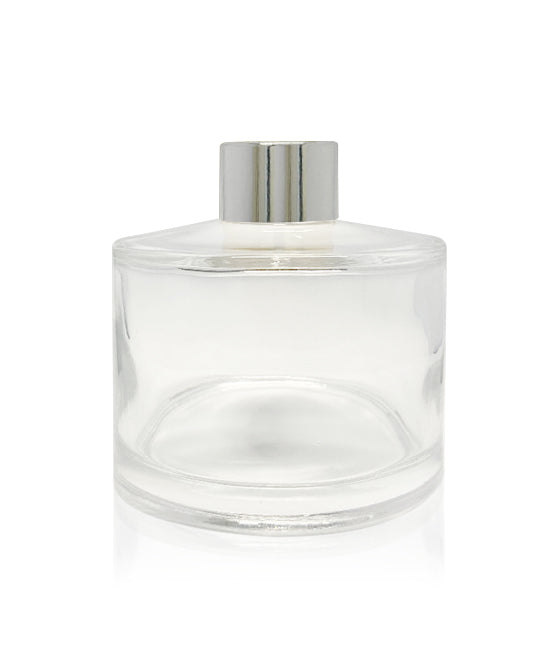 200ml Diffuser Bottle - Silver Collar