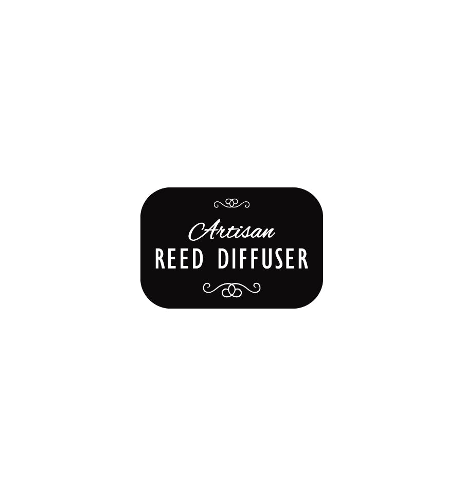 Artisan Reed Diffuser Label 3 x 2cm