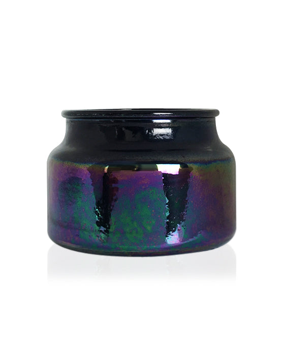 Little Beaute - Black Lustre Jar with White Wooden Lid 270 -300mls
