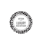 Artisan Luxury Reed Diffuser Label 4.2cm Dia - Transparent