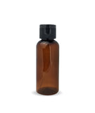50ml Plastic Amber Bottle with Fliptop
