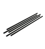 Medium - Black Reed Sticks 3mm x 20cm