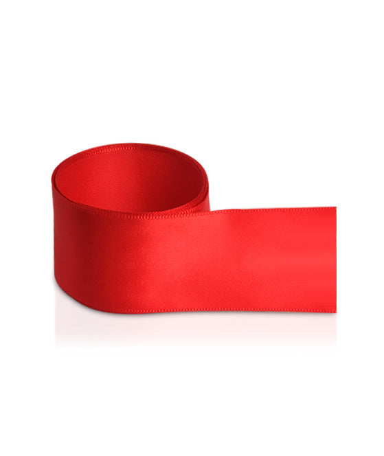 Red Satin Ribbon - Large