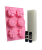Floral Soap Making Kit - White Melt & Pour