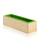 Silicone Loaf Mould with Wooden Base - 26 x 8 x 7cm