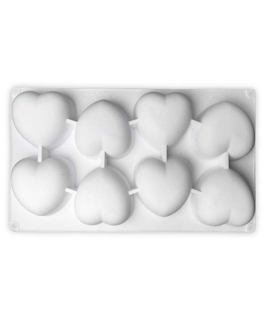 Heart - Reuseable Silicone Soap Mould