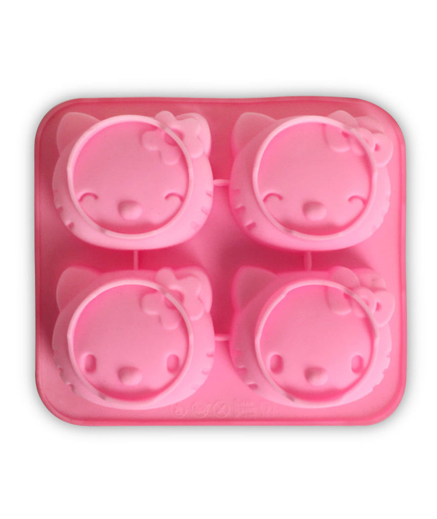 Hello Kitty Soap Mould- Reusable Silicone
