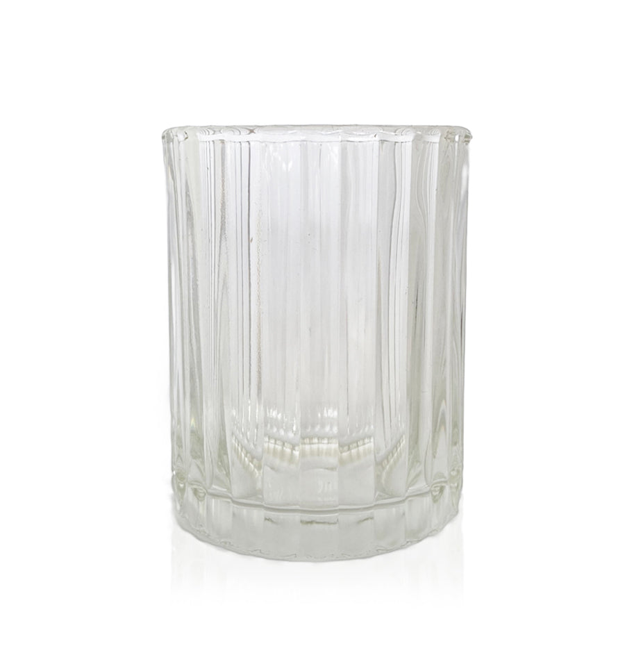 Fluted Cut Glass Tumbler - 275mls END OF LINE