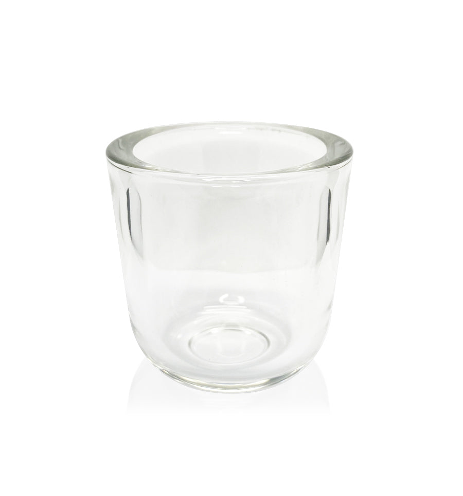 Clear Thick Wall Glass Candle Jar - 150mls