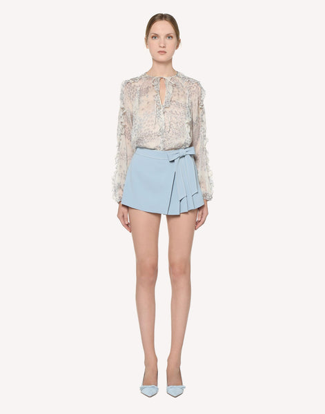 Red Valentino Tie Waist Shorts