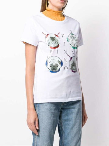 Pinko White Cat T-shirt