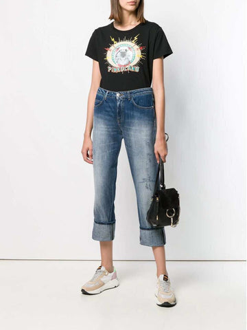 Pinko Black Cat T-shirt