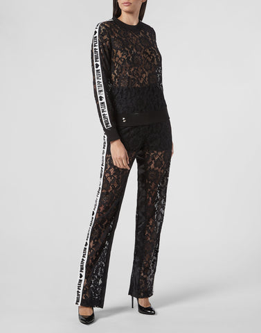 Philipp Plein Long Trouser Lace