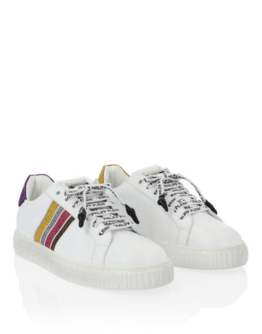 Philipp Plein Lo-Top Sneakers Crystal