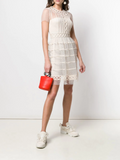 Red Valentino Classic Tulle Mini Dress