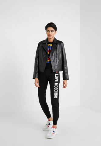 Love Moschino Traditional Love Letter Tracksuit Bottoms