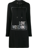 Love Moschino Letter Logo Hoodie