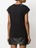Pinko Embroidered Logo T-shirt
