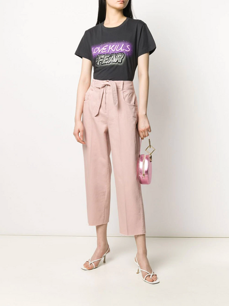 Pinko Tapered Belted Trousers