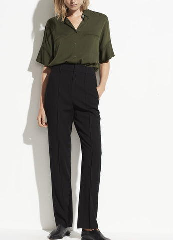 VINCE High Rise Tailored Pant
