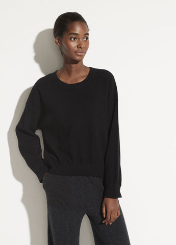 Vince Cashmere Double Layer Crew