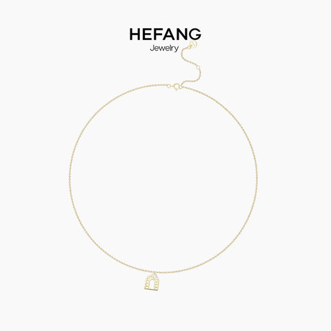 He Fang Arch Necklace