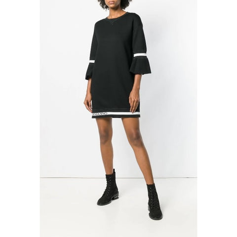Ermanno Scervino Mini Dress With Logo