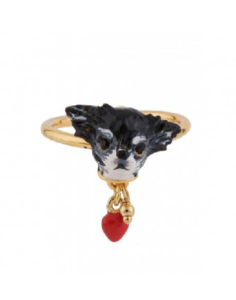 Les Nereides Little Chihuahua Adjustable Ring