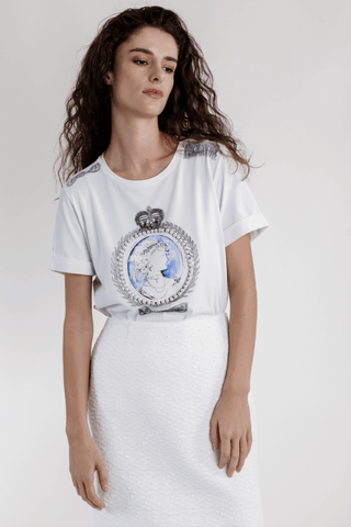 Weill Cotton Cameo T-shirt