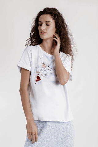 Weill Cotton Cupis T-shirt