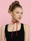 Le Loup Victory Collection Choker Red