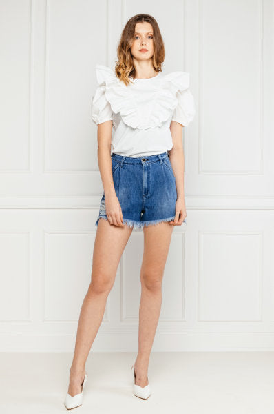 Pinko Relaxed Fit Shorts