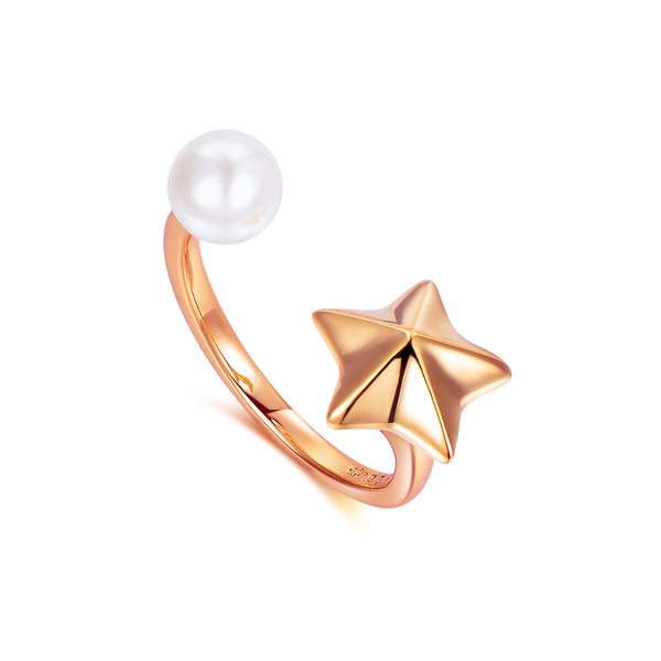 Le Loup Star Line Ring