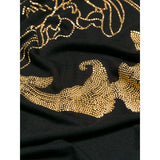 Versace Collection Black and Gold-toned T-shirt